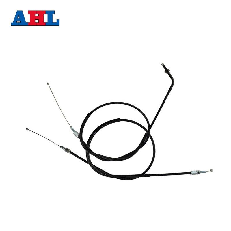 Motorcycle Accessories Throttle Line Cable Wire For KAWASAKI KLX250 KLX 250 2001-2007 35 83 motorcycle throttle cable for 50cc 150cc dirt bike d030 042