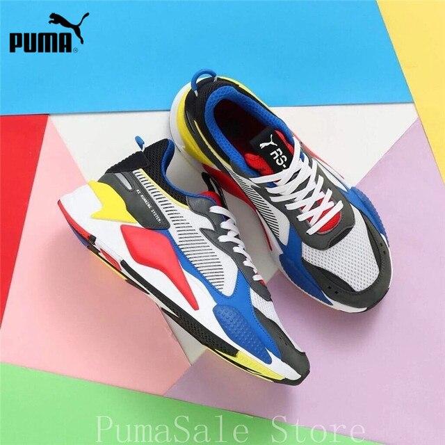 bf4a6d71c842e Original 2018 RS-X Toys Transformer Men Women Badminton Shoes 369449-02 RS  System Cushioning Sneaker Dad Shoes EUR36-45