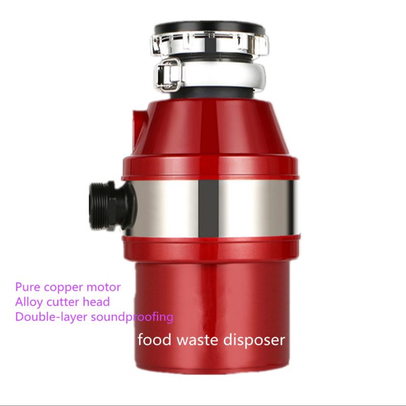 Kitchen Food Garbage Disposal Crusher Food Waste Disposers Stainless Steel Grinder Material Kitchen Appliances : 91lifestyle