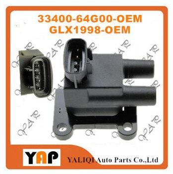 Nouvelle bobine d'allumage de haute qualité pour FITSUZUKI BALENO Estate Hatchback 1.6L L4 33400-64G00 GLX1998 GI1998 1995-2005
