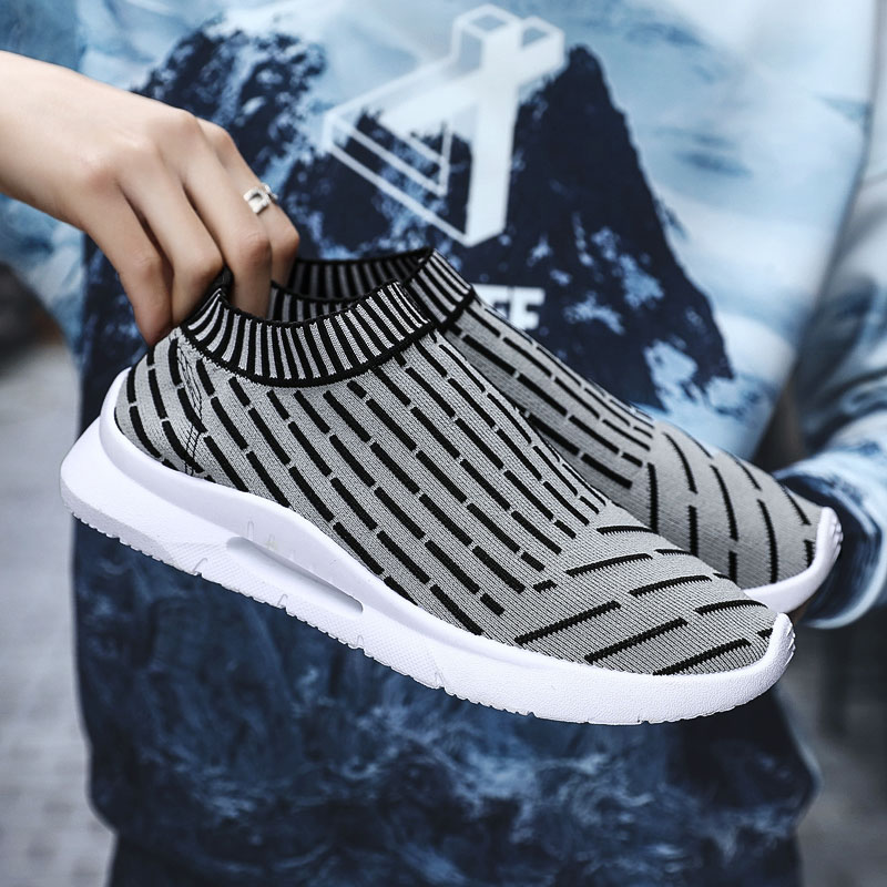 Original Men Sneakers Skateboarding Parise Ultras Breathable Knitted Fly Speed Nyfw Shoes Walking Boost Trainers Max Size 44(China)