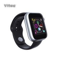 スポーツの Bluetooth スマートウォッチ男性女性のためのカメラとタッチスクリーンのサポート 2 グラム Sim ios アンドロイド 2019 スマート腕時計子供のための