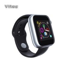 Спортивные Смарт часы с Bluetooth для мужчин и женщин с камерой и сенсорным экраном Поддержка 2g Sim для IOS Android 2019 Смарт часы для детей