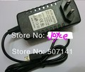 O envio gratuito de new 5 pcs eua plug parede power adapter charger 12 v 2a para acer iconia a510 a700 a701 tablet