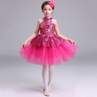 Children Fashion Flower Girl Tulle Dress Evening Short Frocks Design Pageant Ball Gowns for Girls Easter Outfit