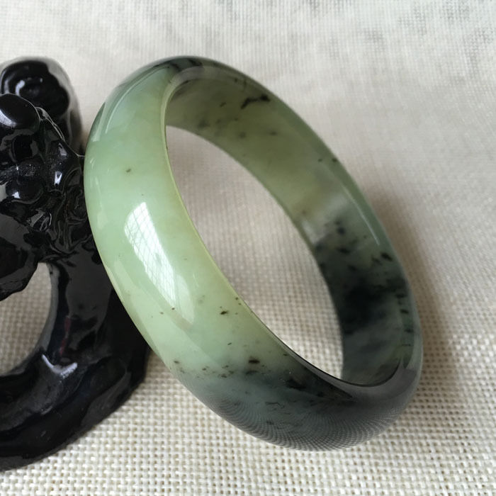 Hot sell ->@@ 60mm Certified Grade Chinese Natural Green Natural stone Gems Bracelet Bangle 6120 NEW -Top quality free shipping free shipping top quality 500g food grade natural astaxanthin 2%