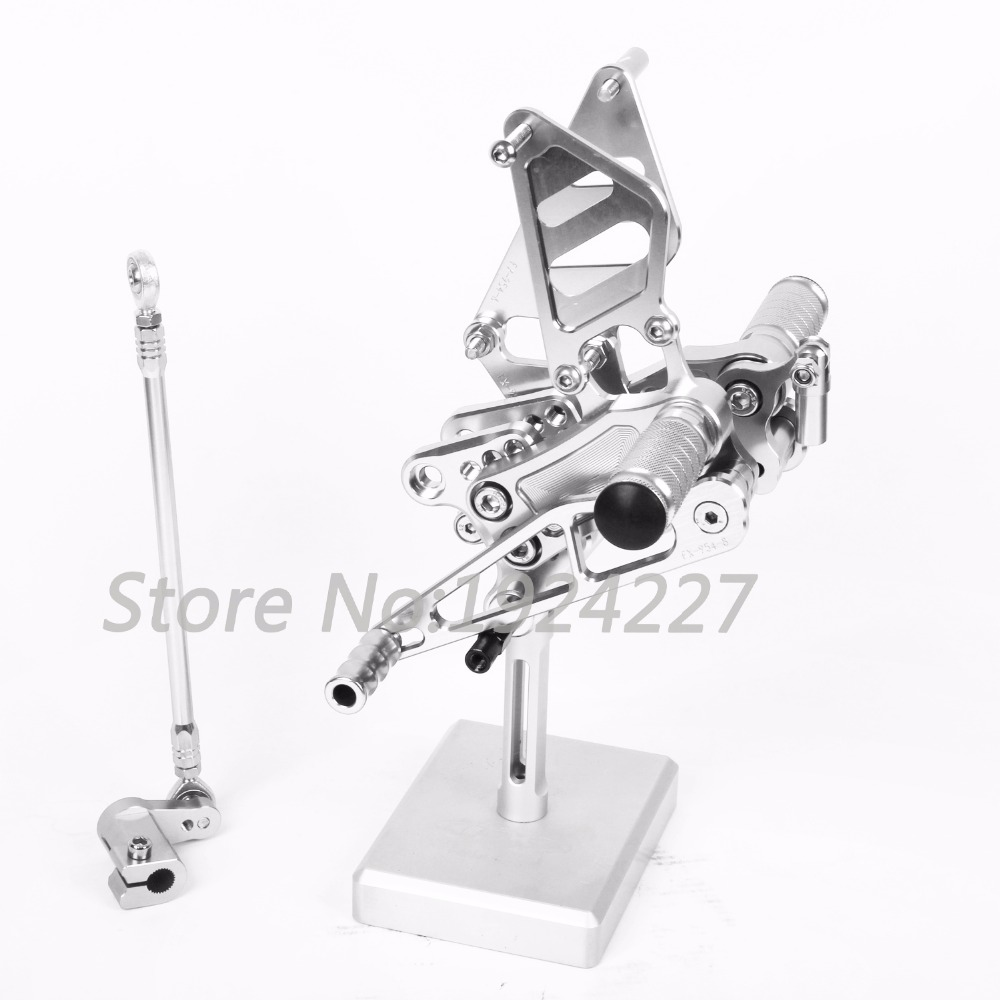 Motorcycle Footrest Adjustable Foot Pegs Rearsets For Honda CBR929RR 2000-2001Hot High-quality Motorcycle Foot Pegs