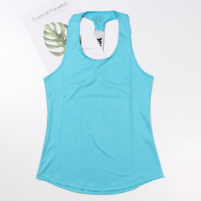 Women Yoga Top Gym Sports Vest Sleeveless Shirts Tank Tops Sport Top Fitness Women Running Clothes Singlets