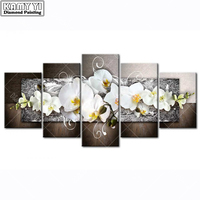 100 Full 5D Diy Daimond Painting Cross Stitch Flower Multi Picture Diamond Painting Rhinestones Paintings Embroidery