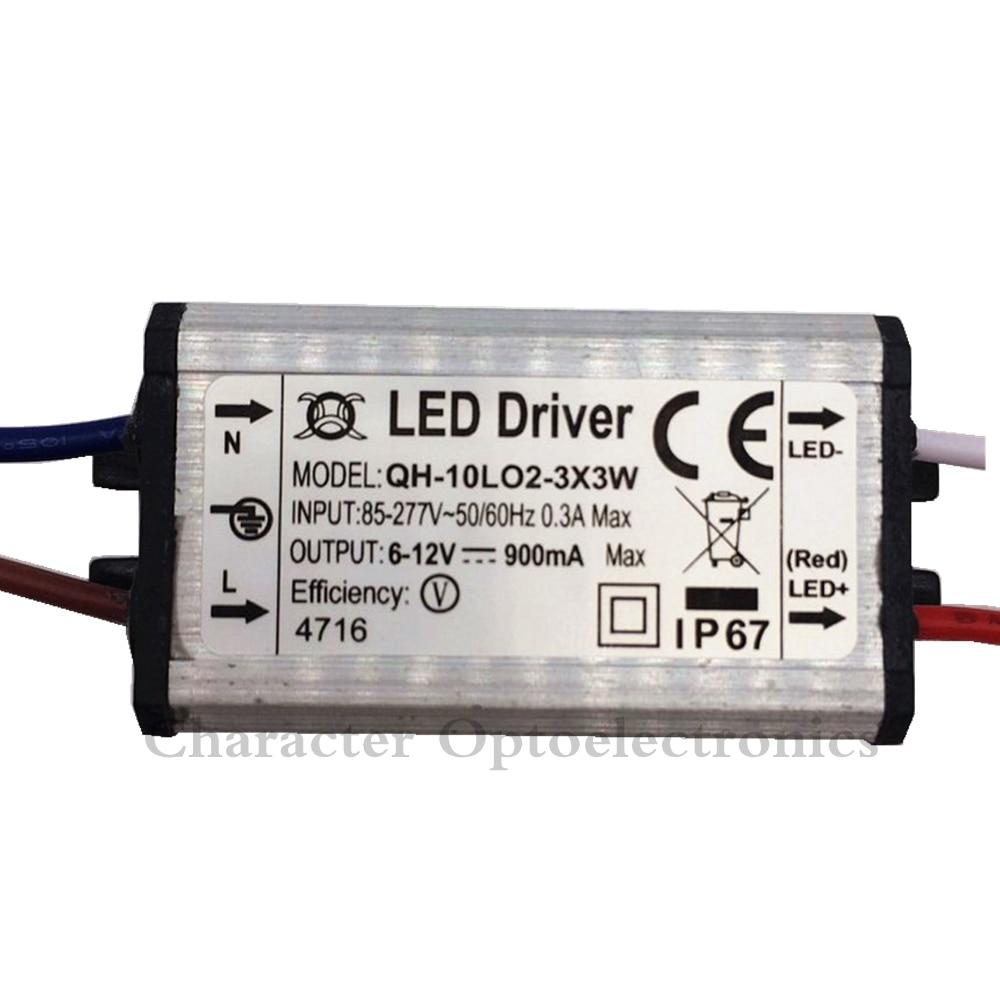 10 հատ հատ բարձրորակ LED վարորդ DC6-12v 10w - Լուսավորության պարագաներ - Լուսանկար 2