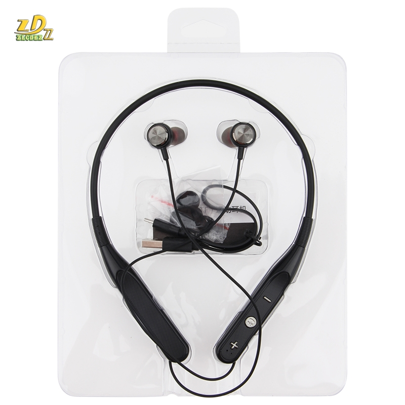 100pcs Wireless Headphones Bluetooth Earphone Sports Music Bluetooth Headsets Stereo Bass Wireless Earpiece with Mic for Phone
