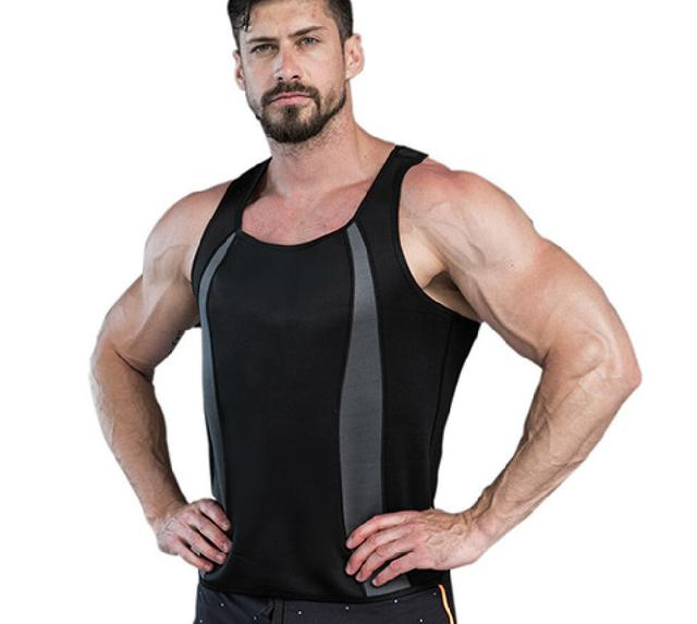 Posture Corrector Man Shaper Belly Trimmer Corset Slimming Tummy Tops Control Chest Binder Body Shapers