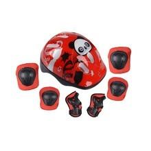 2016 HOT 7pcs/set Skating Protective Gear Sets Elbow Pads Helmet Bicycle Skateboard Ice Skating Roller Knee Protector For Kids