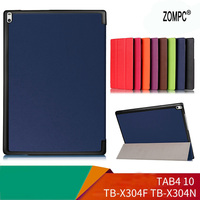 New Ultra Thin Slim Luxury Magnetic Folio Stand Leather Case Smart Cover For Lenovo Tab 4