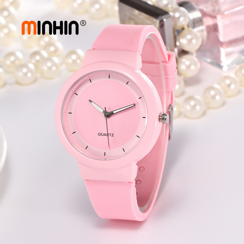 Fashion Candy Colors Sports Watch Analog Women Quartz Wristwatches Top Brand Luxury Silicone Band Students WatchesFashion Candy Colors Sports Watch Analog Women Quartz Wristwatches Top Brand Luxury Silicone Band Students Watches