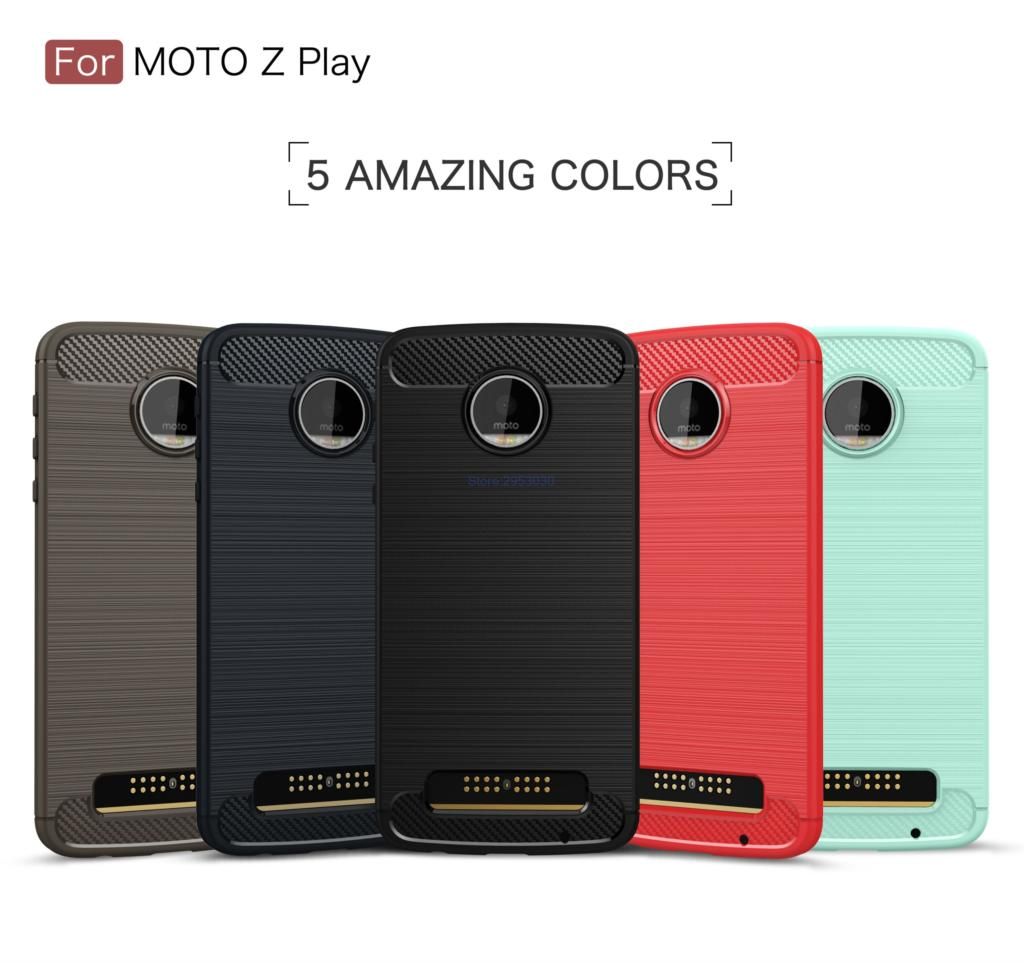 TPU Case for Motorola <font><b>Moto</b></font> <font><b>Z</b></font> <font><b>Play</b></font> <font><b>XT1635</b></font> <font><b>XT1635</b></font>-<font><b>02</b></font> Soft Silicone Carbon Fibe Mobile Phone Case for <font><b>Moto</b></font> ZPlay <font><b>XT1635</b></font>-03 Cover image