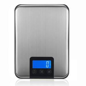 WEIHENG Stainless Steel Digital Kitchen Scale Weight Food