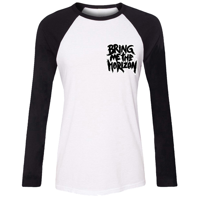 50e066c4f BRING ME THE HORIZON Vacation Girls T shirt For Women long sleeves Tee Tops  Creative Printed Tee Cosplay costume