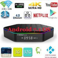 Original T95Z Plus Android 7 1 TV BOX T95Z Plus Amlogic S912 Set Top Box OctaCore