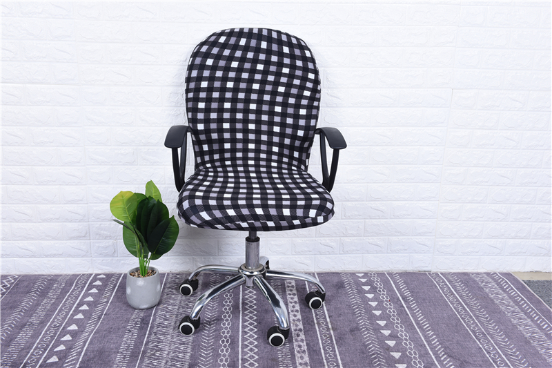 Elasticity Office Computer Chair Cover Side Arm Chair Cover Recouvre Chaise Stretch Rotating Lift Chair Cover Without Chair (34)