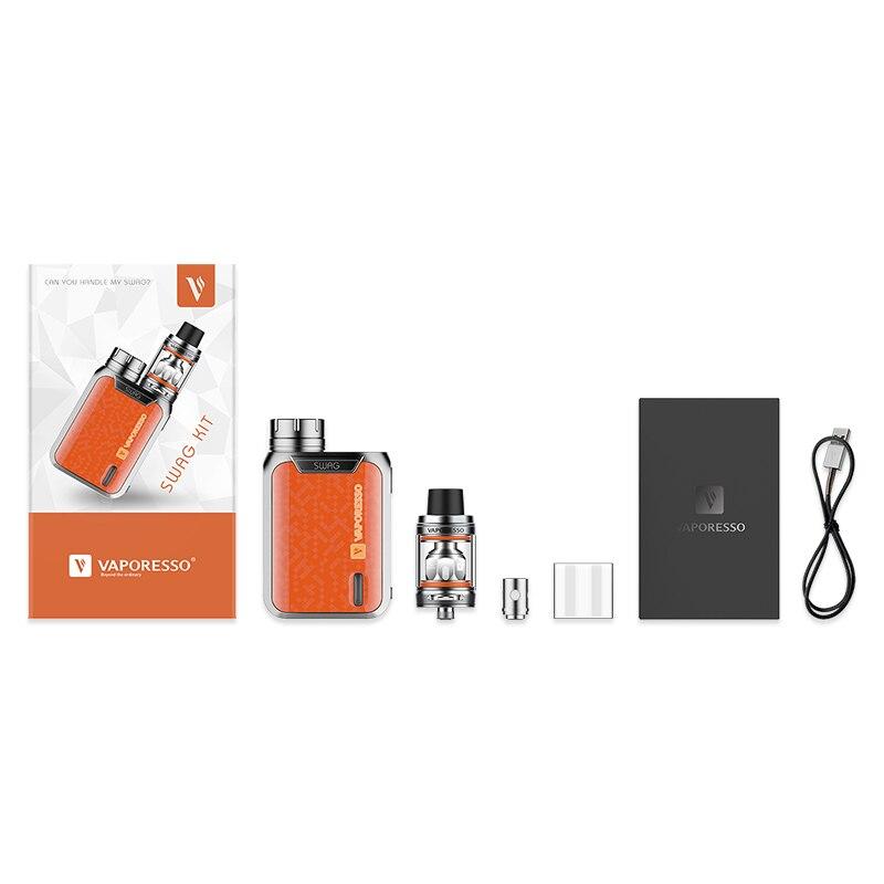 Nouvelle Couleur 80 W Vaporesso Butin TC Kit avec NRG SE Réservoir 2 ml et 3.5 ml Réservoir et Extensible OMNI 2.0 Puce E-cig Vaporisateur Butin Kit Pas de Batterie - 6