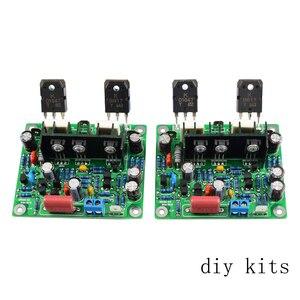 Image 1 - AIYIMA 2 ADET Hifi MX50 SE 100 W + 100 W Çift Kanallı Ses Güç Amplifikatörler Kurulu DIY Kiti Yeni sürümü