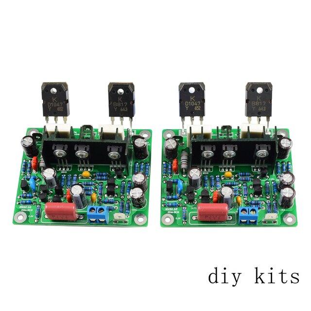 AIYIMA 2 ADET Hifi MX50 SE 100 W + 100 W Çift Kanallı Ses Güç Amplifikatörler Kurulu DIY Kiti Yeni sürümü