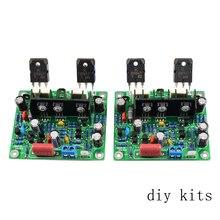 AIYIMA Placa de amplificador de potencia de Audio de doble canal, Kit de nueva versión, Hifi MX50 SE, 100W + 100W, 2 piezas
