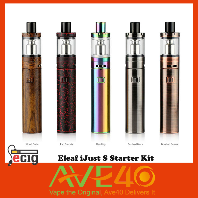 ФОТО Eleaf iJust S Kit 3000mah iJust S Battery 4ml Atomizer Top E-juice Filling electronic cigarette NEW COLORS From AVE40 VS IJOY