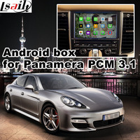 Android 6.0 GPS navigatie doos voor Porsche Panamera PCM 3.1 video interface doos spiegel link google play youtube waze yandex navi