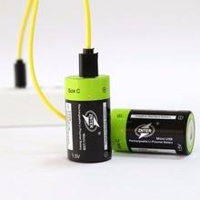2 шт. znter 1.5 В 3000 мАч Батареи reachargeable lipo + класса c Размеры Micro USB Batteria + один Перетащите 1/2/4 Зарядка через USB кабель