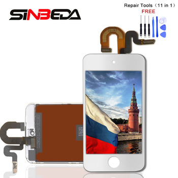 Sinbeda Beste Preis Display Für iPod Touch 5 5th LCD Touch Screen Digitizer Montage Für iPod Touch 6 6th 4,0