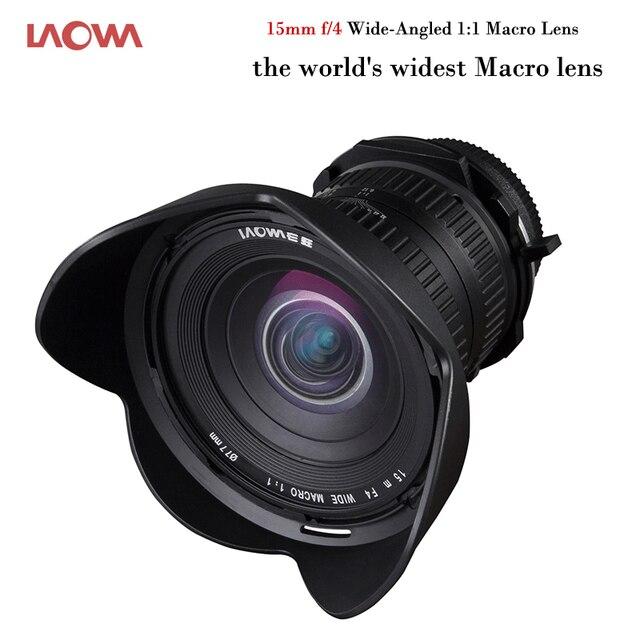 Laowa macro lente 15mm f 4 lente grande angular 1 1 o mundo da mais ... aa523ee3f9
