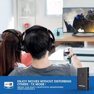 Image 5 - Mpow BH283 אלחוטי מקלט ומשדר 2 ב 1 מתאם Bluetooth עם APTX לרכב סטריאו מוסיקה מערכת/טלוויזיה /אוזניות/רמקול