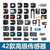 42 Sensor Modules Ultimate Sensor Electric Kit For Arduino 5 37 Total 42 Sensor Starter Kit