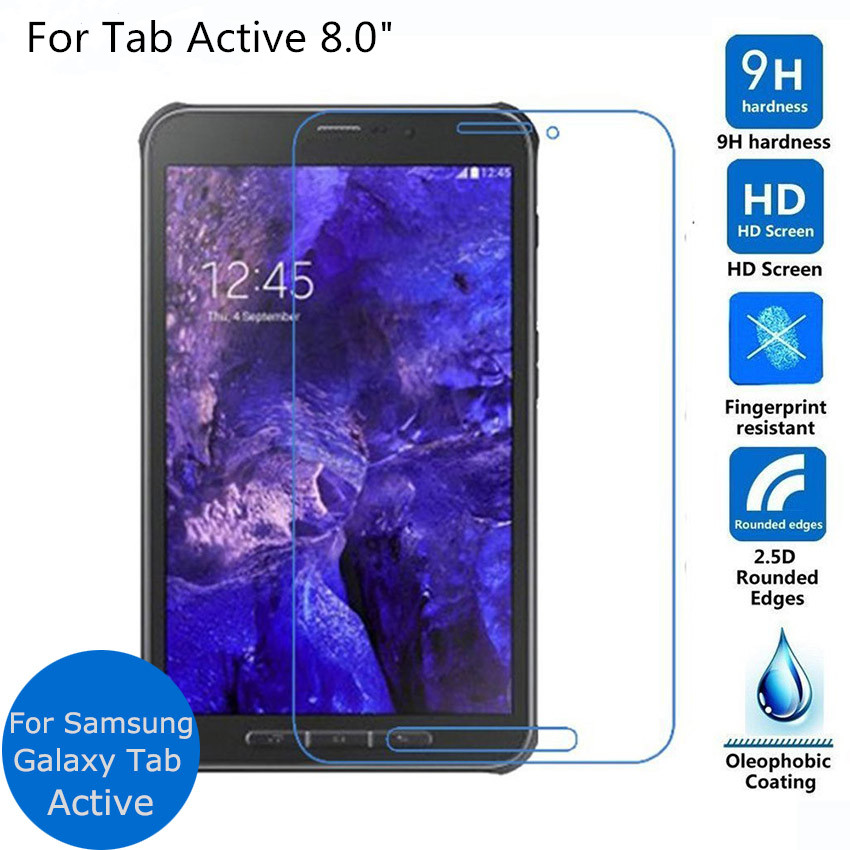 Tempered Glass For Samsung Galaxy Tab Active 1 2 Active2 SM-T390 8.0 T360 T365 T390 T395 Tablet Screen Protector Film