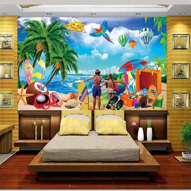 3d Foto Papel Pintado Personalizado Mural Ninos Habitacion Pasion