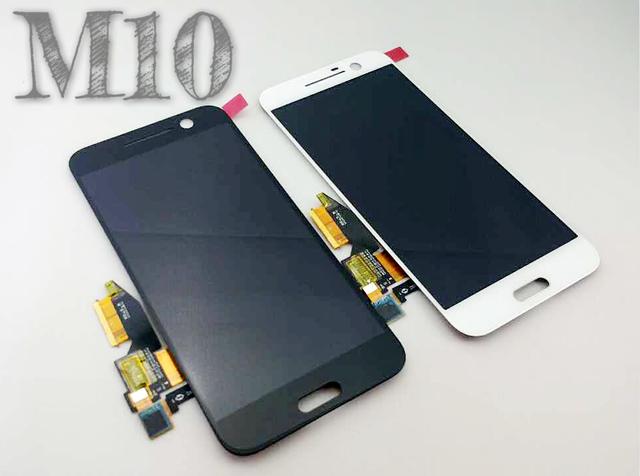 Para htc 10 lifestyle m10 m10u m10h telefone móvel marca new lcd touch screen montagem dentro e fora