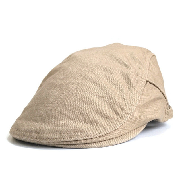Fasbys Adjustable Beret Caps Spring Summer Casual Work Sun Breathable Bone  Brim Hats Womens Herringbone Pure Flat Berets Cap Hat 45dfc09f13