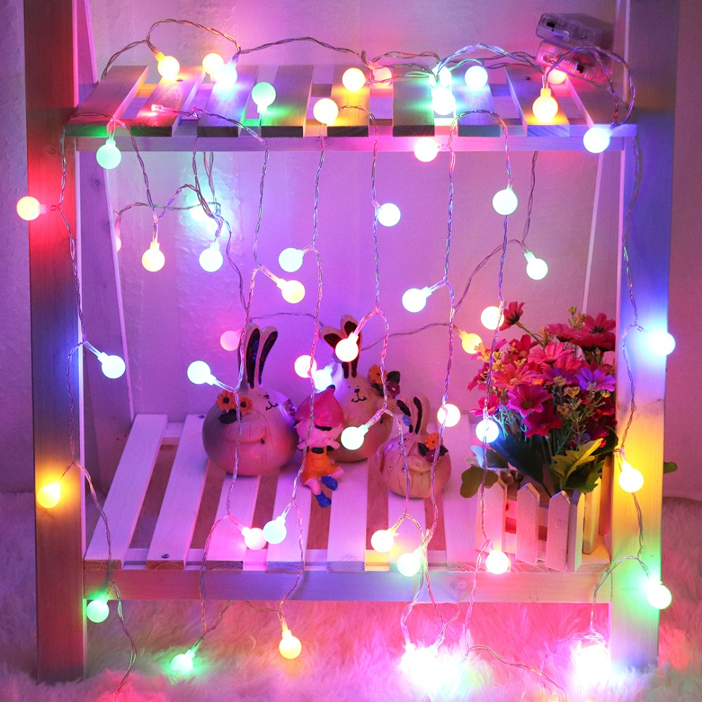Festoon Led Light String Decoration Holiday Christmas Wedding Outdoor Party Bulb Battery ...