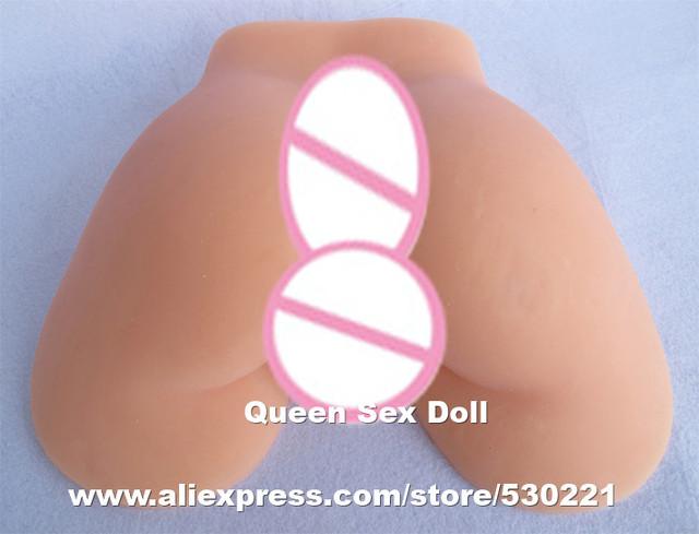 De calidad superior japonés realidad 1:1 culo de silicona coño y culo juguete sexual culo falso juguete sexual hombre masturbador productos del sexo
