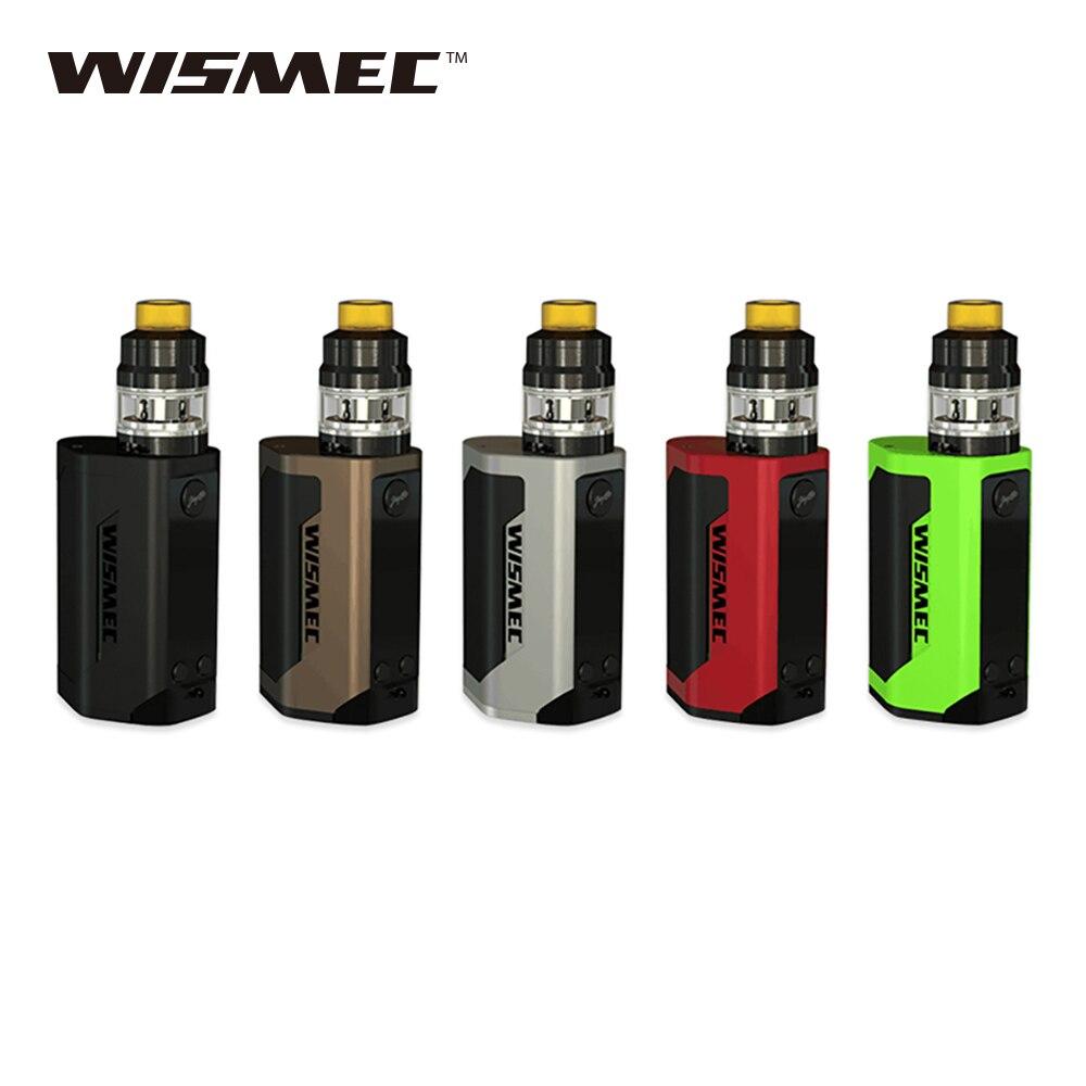 Kit d'origine WISMEC Reuleaux RX GEN3 TC 300 W avec réservoir Gnome 2 ml énorme puissance 300 w Wismec GEN3 TC Mod e-cig Vape Mod vs Kit t-priv