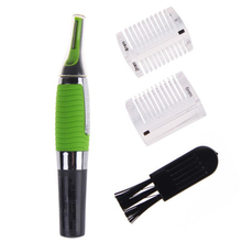 Nose Ear Face Personal Neck Eyebrow Hair Trimmer LED Lights Shaver Clipper Cleaner Health Care