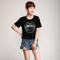 Kpop Group Bts Bangtan Boys Summer Tops Short Sleeve T Shirt Bts K Pop Concert Clothing