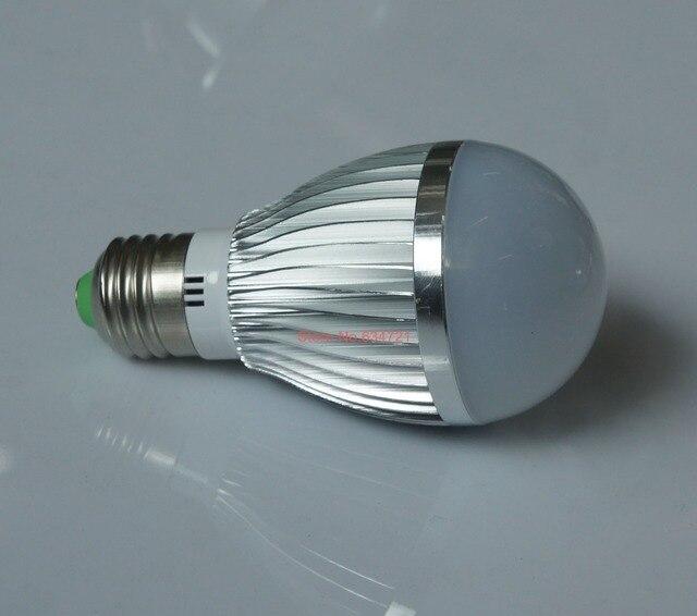 3PCS/Lot 5W LED Light Bulb AC220V E27 White / Warm White Ultra Bright Energy saving Lamp Free Shipping