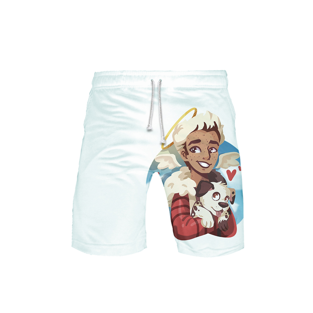 Shorts Men Knee-Length Fashion Summer Casual Spring 3D Harajuku Cameron Print-Board Boyce