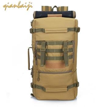 цена на Outdoor Sport Men Travel Backpack Traveling travelling Bags and Duffle Luggage Big Weekend Duffel Women's Bag women Large Trip