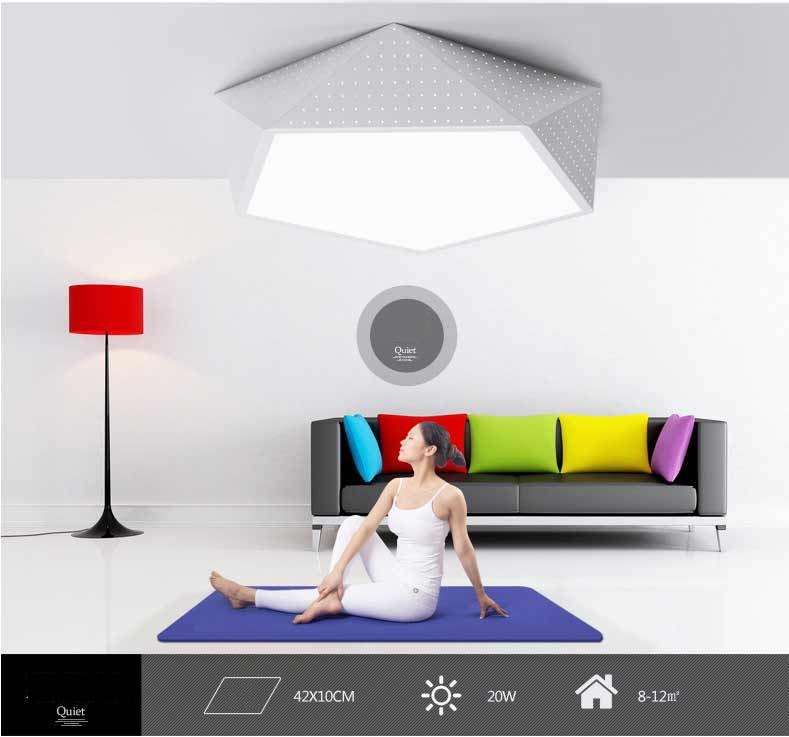 LED ceiling light home business creative geometric personality modern minimalist Ceiling lamp 110-240V семена home business