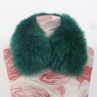 2017リアルフォックス毛皮の襟女
