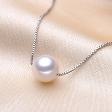 FENASY round pearl classic necklaces High Quality Pearl Pend